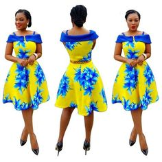 2016 Dashiki Dress Africa Clothing Sling Strap Traditional African Clothing For Women African Modern African Print Dresses, African Dresses For Women, African Attire, African Wear, African Fashion Dresses, Ghanaian Fashion, African Women, African American Fashion, African Inspired Fashion