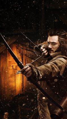 The Hobbit: The Desolation of Smaug #thehobbit #smaug #bard