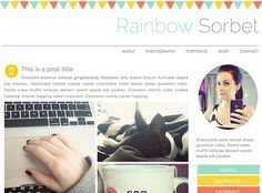 SillyGrrl.com // How to add a border to the top of your blog
