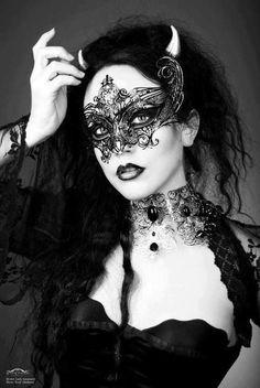 Glam Goth by Sharon Jerusalmy on Etsy