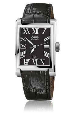 Oris Rectangular Date - 01 583 7657 4074-07 5 21 71FC - Oris Rectangular - Oris - Purely mechanical Swiss watches.