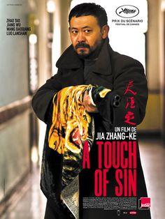 A Touch of Sin est un film de Zhang-ke Jia avec Wu Jiang, Wang Baoqiang. Synopsis : Dahai, mineur exaspéré par la corruption des dirigeants de son village, décide de passer à l'action. San'er, un travai