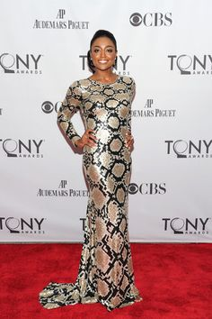 Patina Miller, 2011 - The Most Stunning Tony Awards Looks of All Time - Photos