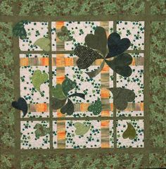 Another great St. Patrick's Day wall hanging quilt pattern.  Buy as an ePattern and have the pattern instantly!