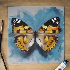 SOLD 🦋🦋🦋🦋 New, For sale - payment plan can be arranged if wanted. Oil on board Species- Painted lady What a great bank holiday weekend, I've seen a few butterflies here in london this weekend. Have you spotted any? Chloe Brown, Bank Holiday Weekend, Contemporary Artwork, Woman Painting, Pet Portraits, Original Artwork, Butterflies, Oil, London