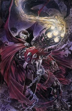 Spawn by ardian-syaf on DeviantArt Spawn Comics, Marvel Dc Comics, Marvel Heroes, Anime Comics, Rogue Comics, Marvel Avengers, Comic Book Characters, Comic Character, Comic Books Art