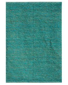 RugStudio presents Jaipur Rugs Calypso Havana CL02 Cool Aqua/Cool Aqua Sisal/Seagrass/Jute Area Rug
