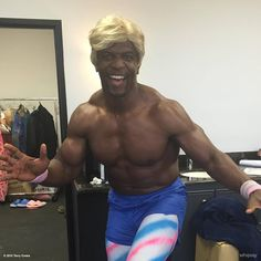"""Terry Crews just posted this saying """"Be all you can be today!"""". The dude is awesome no matter what. - Imgur"""
