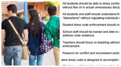 All Schools Should Look At This Dress Code That Finally Gets It Right  -   This school's dress code promotes equity and diversity and we are here for it.