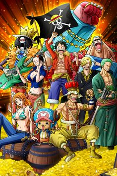 'StrawHats Pirates - One Piece' Poster by One-piece-World One Piece Manga, One Piece Drawing, One Piece Fanart, One Piece Quotes, One Piece Images, One Piece Pictures, One Piece Tattoos, Pieces Tattoo, One Piece Zeichnung