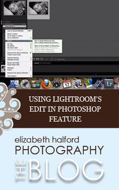 A video tutorial showing how to edit an image from Lightroom to Photoshop and then back again.