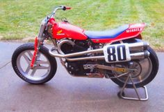 Another Honda RS 750..... Flat Track Motorcycle, Flat Track Racing, Moto Bike, Motorcycle Design, Lucifer's Hammer, Street Scrambler, Cx 500, Track Cycling, Flat Tracker