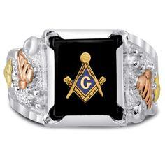 Mason Masonic ring
