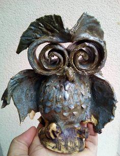 Ceramic owl by Galerija Sonja Bikic