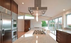 Modern Kitchen Exhaust Hood