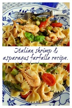 This light and easy to make Italian shrimp and asparagus farfalle is a divine spring pasta recipe that can be eaten warm or as a pasta salad. It's perfect for warm weather lunches or light dinners. I'm sure you'll love it if you try it! #farfalle #bowtiepasta #pasta #pastarecipe #pastasalad #seafood #seafoodpasta #Italianrecipe #Italianfood #asparagus #shrimp @thepastaproject