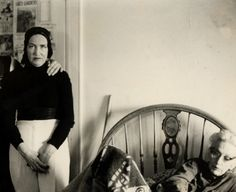 This will be me and Stella someday, only substitute the cats with Bieber magazines and Strokes albums.  :( (Grey Gardens)