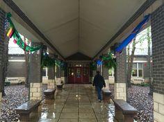 Big world Recess school Entrance
