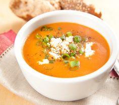 Hiszpańska zupa z żółtej papryki - Przepisy.Kremowa konsystencja i pełny smak pieczonych warzyw. Pycha! Hiszpańska zupa z żółtej papryki to przepis, którego autorem jest: Magda Gessler