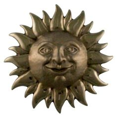 Michael Healy Sunface Nickel Silver Doorbell Ringers Nickel Silver, Oiled Bronze & Brass…