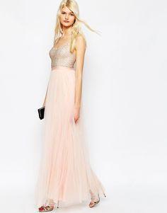 Image 4 - Needle & Thread - Coppelia - Maxi robe en tulle style ballerine à ornements