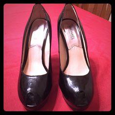 Authentic Michael Kors Black Peep Toe Pumps Authentic Michael Kors Black Peep Toe Pumps Michael Kors Shoes Heels