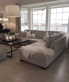 Grey Neutral Furnishings Create An Timeless Appeal | Condos, Neutral ...
