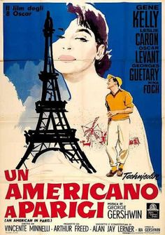 #Oscars History101-11: 1952 marked first yr when @The Academy Awards were live televised on @Nancy Christopher. That year, An American in Paris--inspired by a 1928 orchestral composition by George Gershwin--directed by Vincente Minnelli, starring Gene Kelly, Leslie Caron won Best Picture.