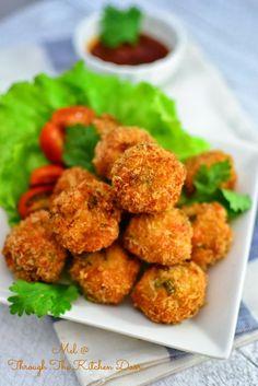 Through The Kitchen Door: Fried Shrimp Balls