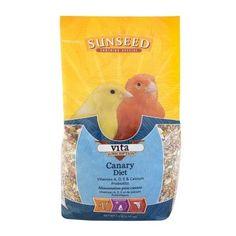 BIRD - FOOD: SEEDS & PELLETS - VITA CANARY - 2.5LB - Vitakraft Sun Seed, Inc - UPC: 87535590121 - DEPT: BIRD PRODUCTS