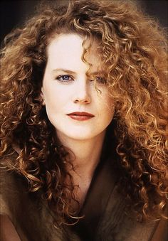 Nicole Kidman doesn't kid around when it comes to her curls