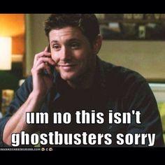 Supernatural Ghostbuster spoof