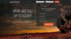 Creative Registration page