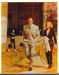 James Bond 007 Sean Connery Honor Blackman Signed Autographed 8x10 Photo COA | eBay
