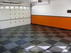 Orange Garage Paint Wall Ideas                                                                                                                                                                                 More
