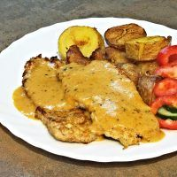 Recept : Hořčicová omáčka z výpeku po mase | ReceptyOnLine.cz - kuchařka, recepty a inspirace Destiel, Chicken, Meat, Dinner Ideas, Lasagna, Cooking, Supper Ideas, Cubs