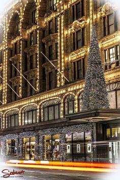 Harrods Christmas lights