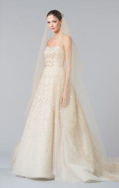 Carolina Herrera Fall Bridal 2015