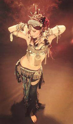 Moria Chappell Bellydance Superstars photoshoot