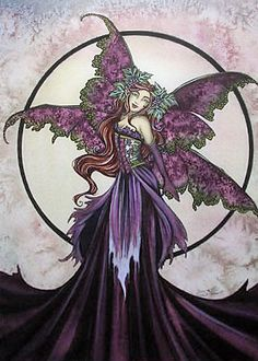 Fairy Art Amy Brown Enchanted Wine