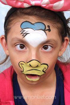 Monliet face paint   characters