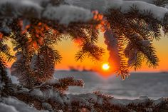 """""""New Year's Eve,"""" by Photos by KJS, via Flickr -- """"The last sunset of 2012. Happy New Year to All!"""""""
