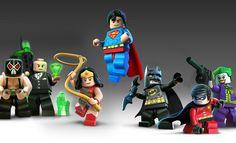 25 Mejores Im 225 Genes De Lego Dc Comic Legos Batman Y
