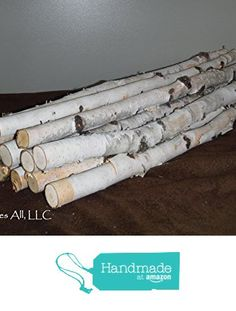 Decorative White Birch Sticks/Birch Inch Piece White Birch Set/Rustic Home Decor/Shipping Included Birch Branches, Birch Bark, Birch Decorations, Fireplace Logs, Love Coupons, Just For You, Sticks, Rustic, Wood