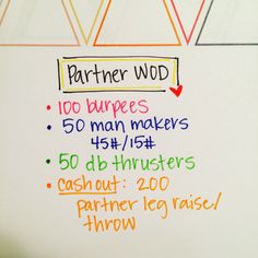 Try this #couples #partner #wod We couldn't make it to our box the other day but were able to make good use of the db's at our community's gym. #crossfit #crossfitcouples #partnerwod #fitness #shoulderblaster