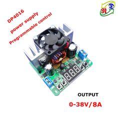 Купить RD DP4016 Постоянное Напряжение Шаг вниз Программируемый Источник Питания понижающий преобразователь Цифровой вольтметр светодиодный дисплей КРАСНЫЙ 8Аи другие товары категории Измерители напряженияв магазине RD official storeнаAliExpress. дисплей факел и дисплей крюк