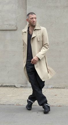 Vincent Cassel , French men have so much fashion sense.
