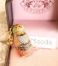 Juicy Couture Russian Doll Charm. Because it's CA-UTE