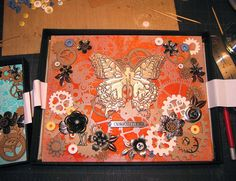 The making of Steampunk Insects #3  Steampunk Insects, Hoel L. 2014, Collage, viewed 12 August 2015, <http://creativejuicefreshsqueezed.blogspot.com.au/2014/08/steampunk-insects.html>
