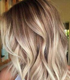 Beige blonde.
